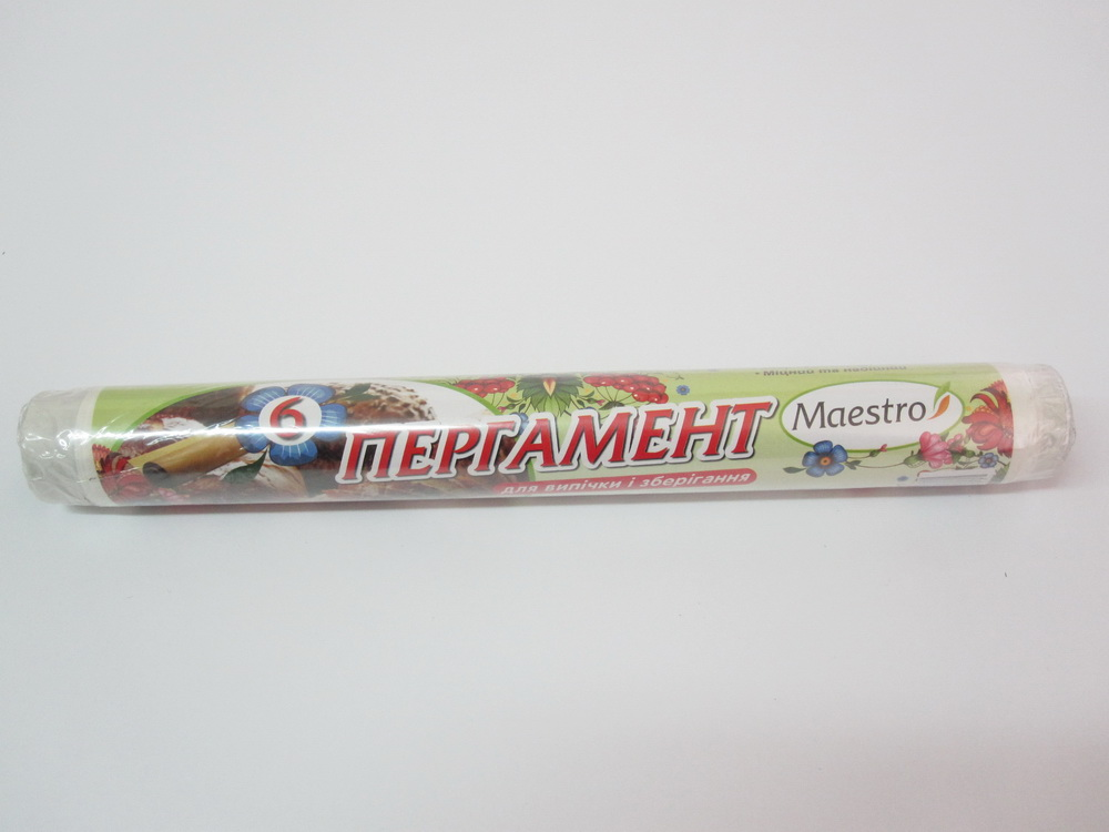 Пергамент 420*6м коричневый 4м Maestro