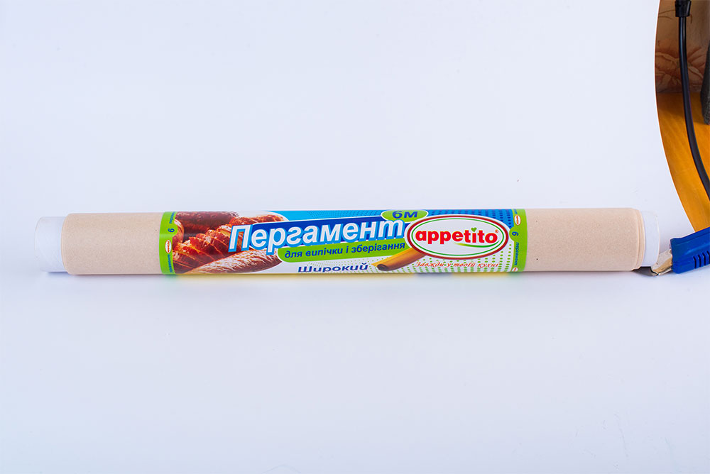 Пергамент 420*6м коричневый Appetito
