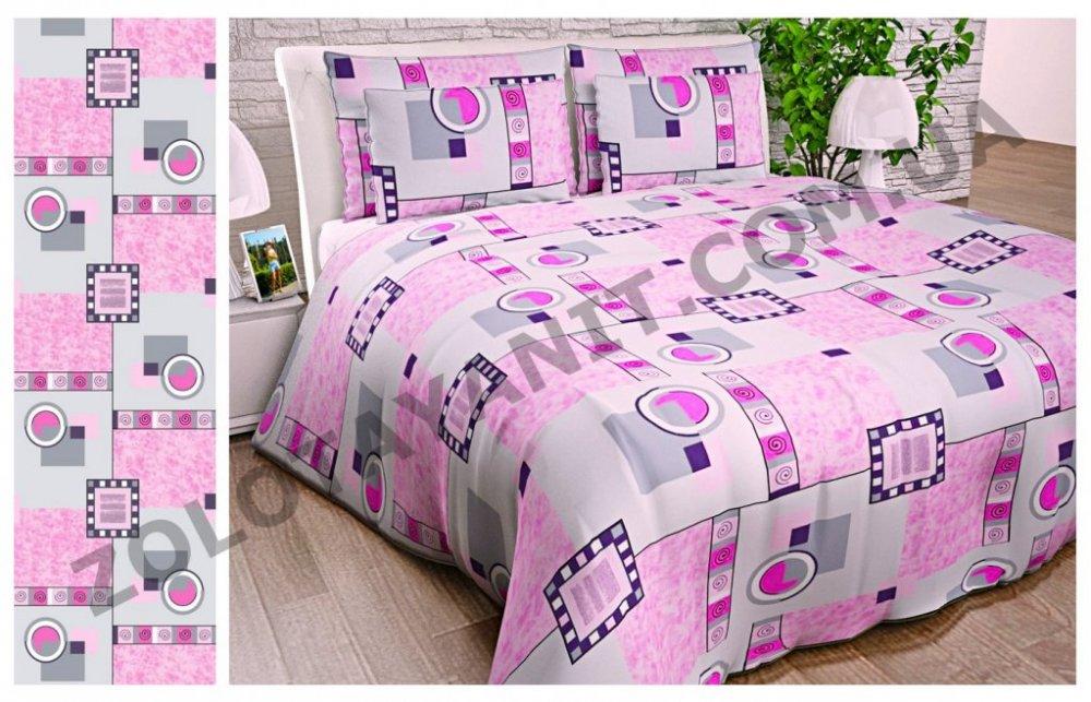 Ткань Бязь Gold 1067-Pink