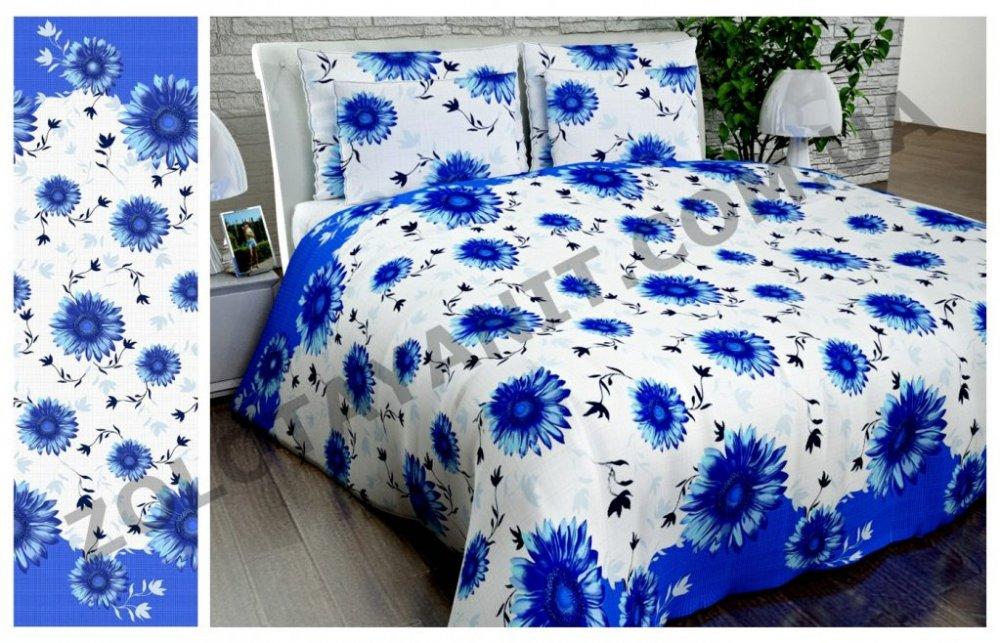 Ткань Бязь Gold 1068-blue
