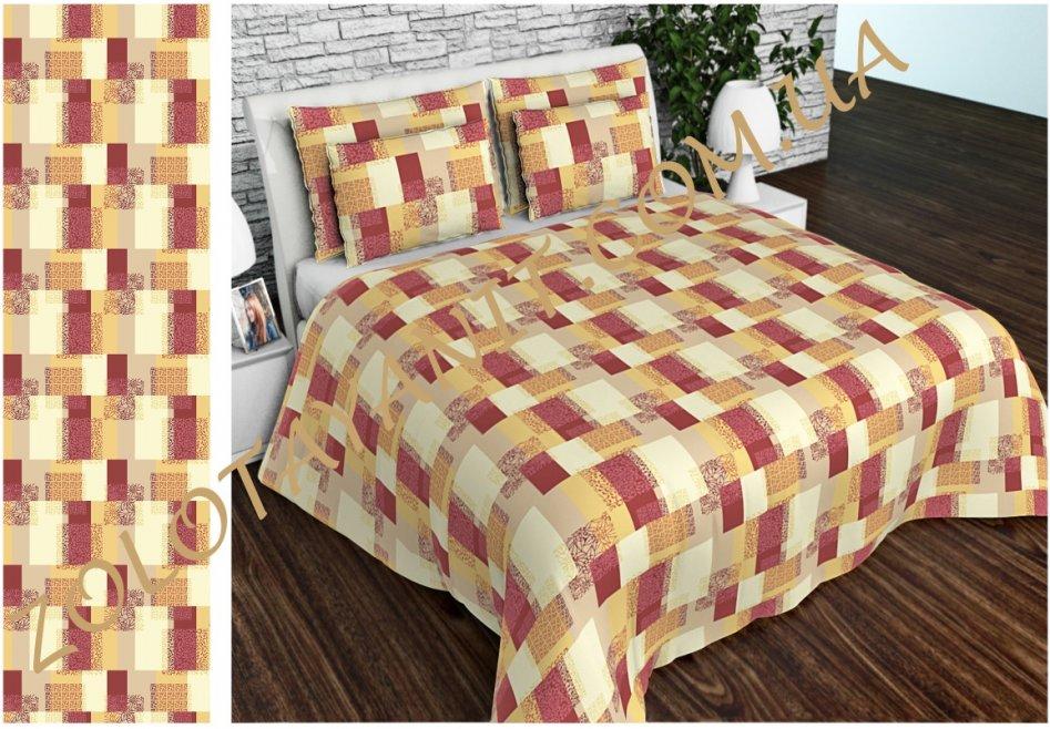 Ткань Бязь Gold 1205-3-Red