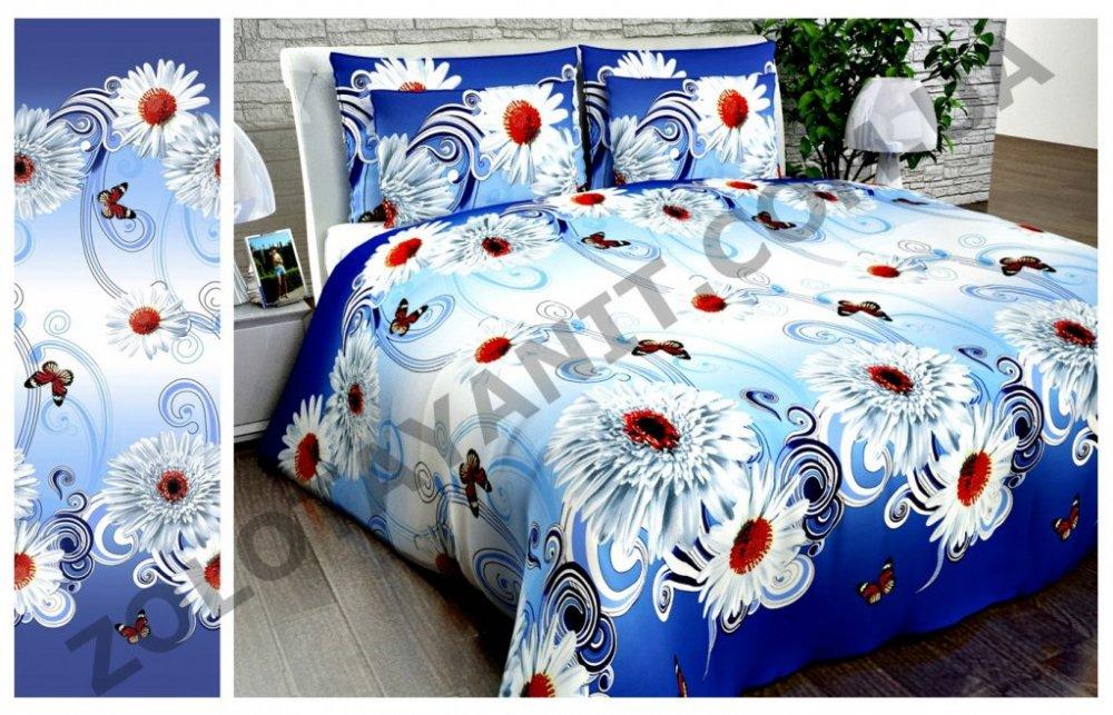Ткань Бязь Gold UXT-412-2-blue