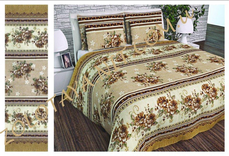 Ткань Бязь Gold UXT-494-brown