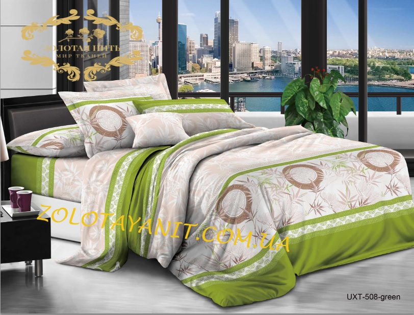 Ткань Бязь Gold Uxt-508-Green