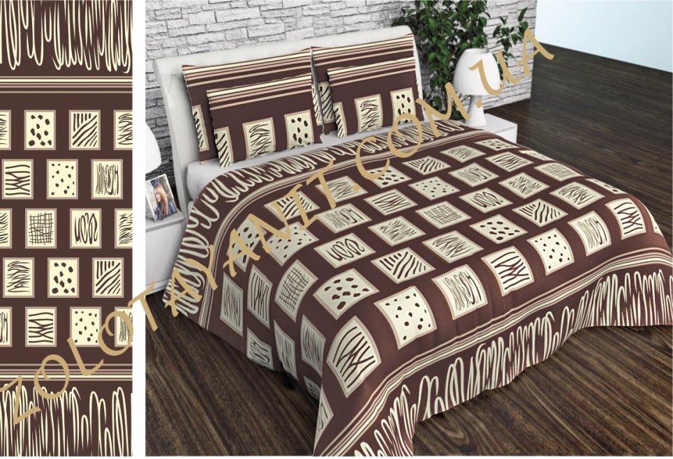 Ткань Бязь Gold Uxt-550-Brown