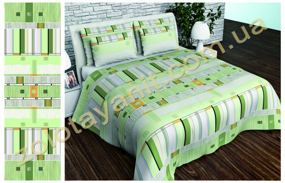 Ткань Бязь Gold Uxt-552-2-Green