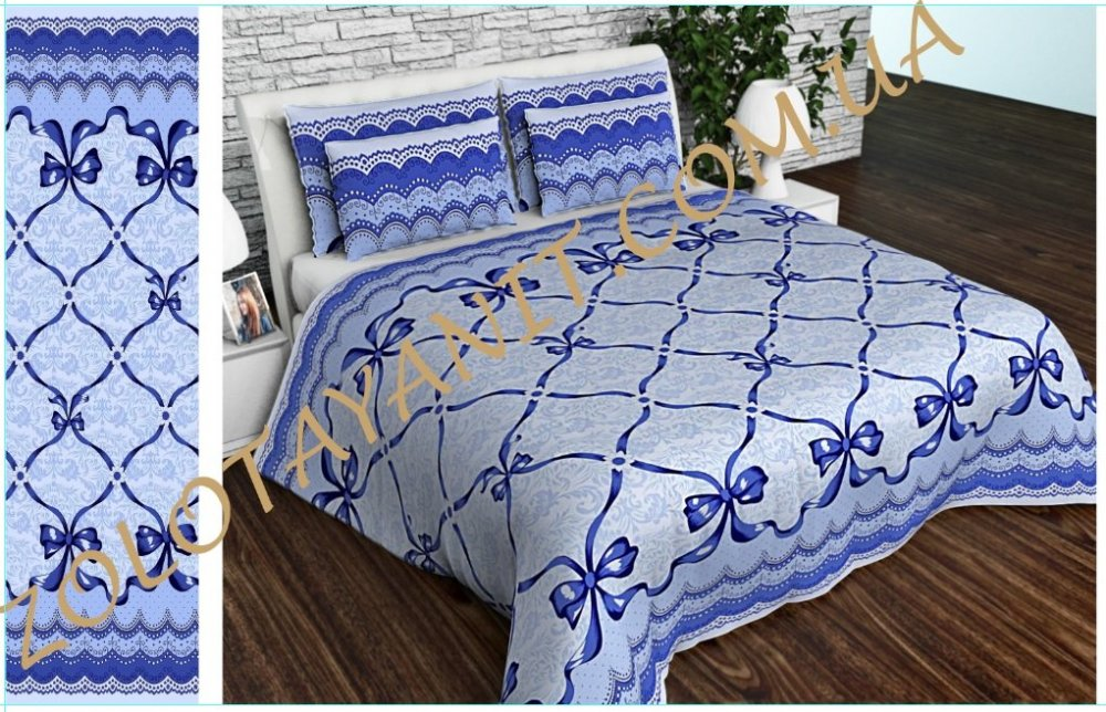 Ткань Бязь Gold Uxt-565-1-Blue