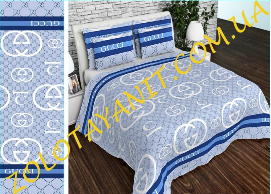 Ткань Бязь Gold Uxt-622-1-Blue