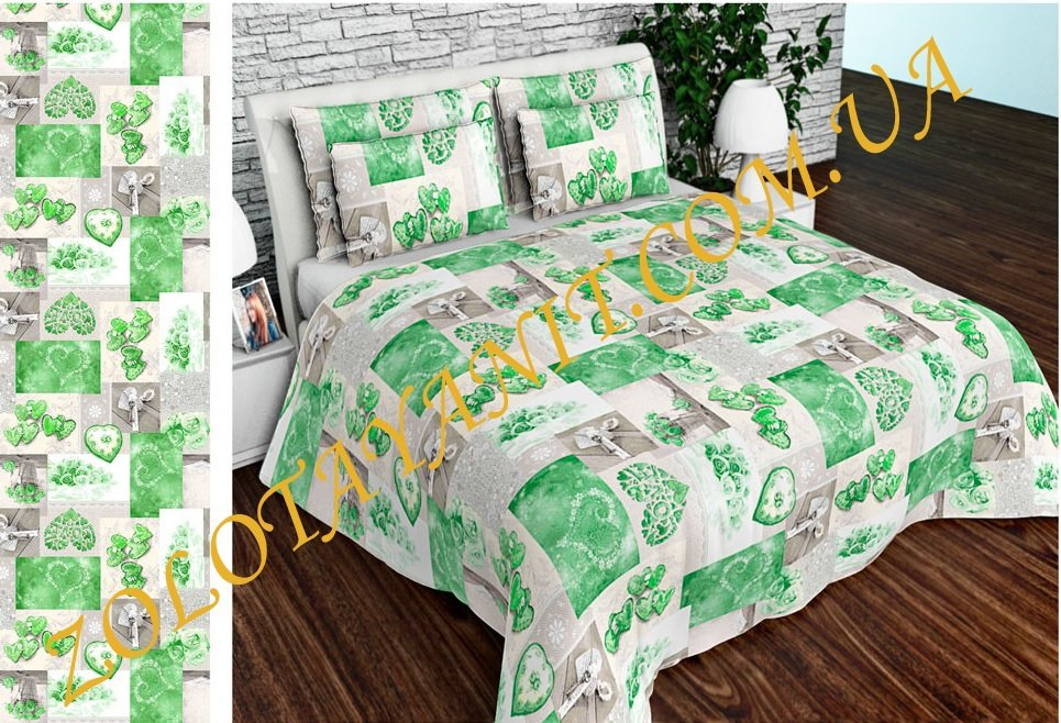 Ткань Бязь Gold Uxt-638-Green
