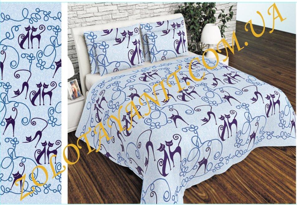 Ткань Бязь Gold Uxt-659-Blue