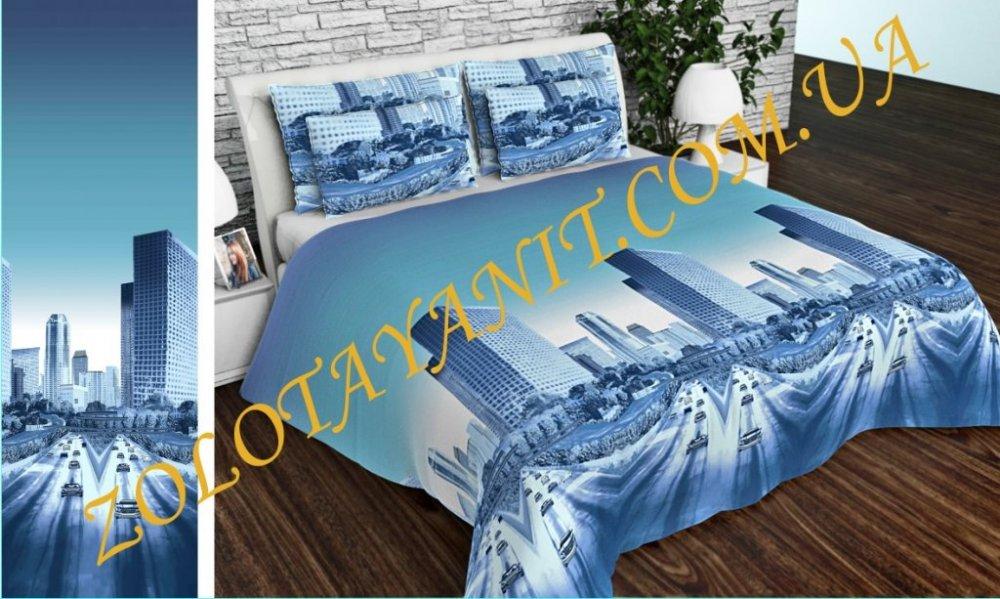 Ткань Бязь Gold Uxt-661-1-Blue