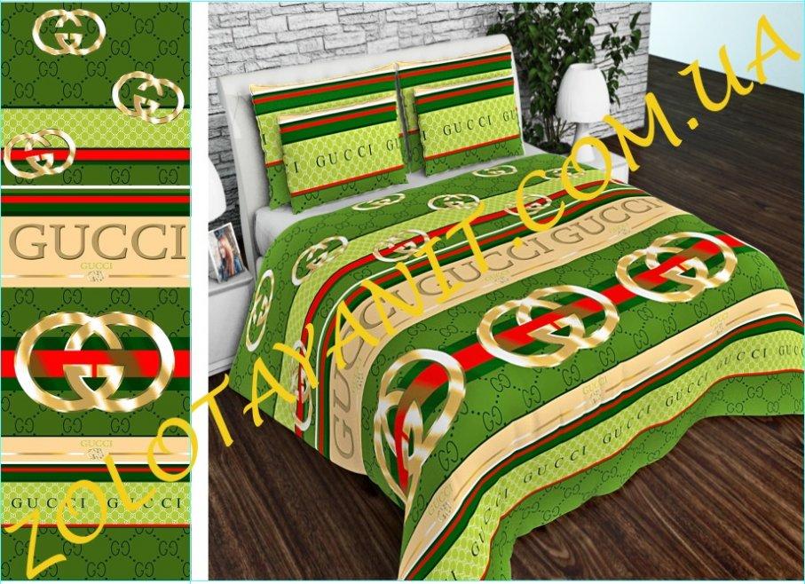 Ткань Бязь Gold Uxt-663-3-Green
