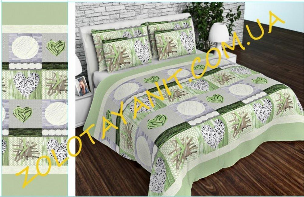 Ткань Бязь Gold Uxt-679-2-Green