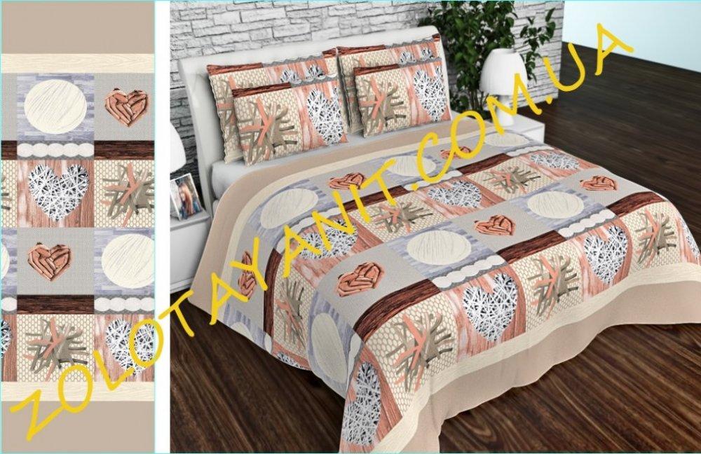 Ткань Бязь Gold Uxt-679-Brown