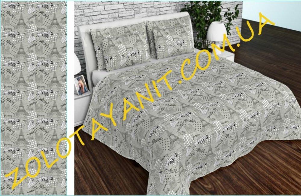 Ткань Бязь Gold Uxt-681-4-Grey