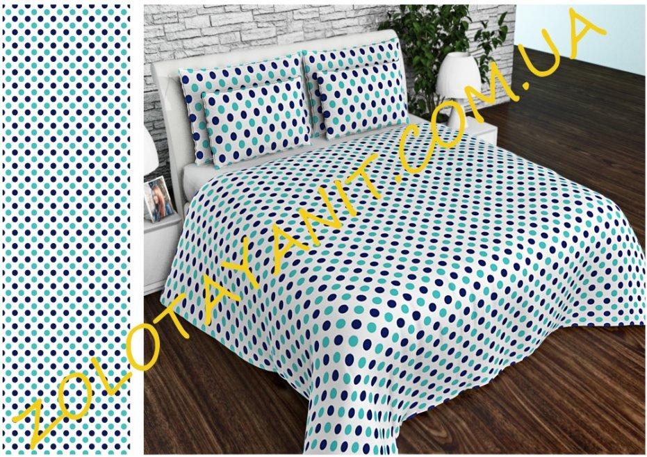 Ткань Бязь Gold Uxt-695-1-Blue
