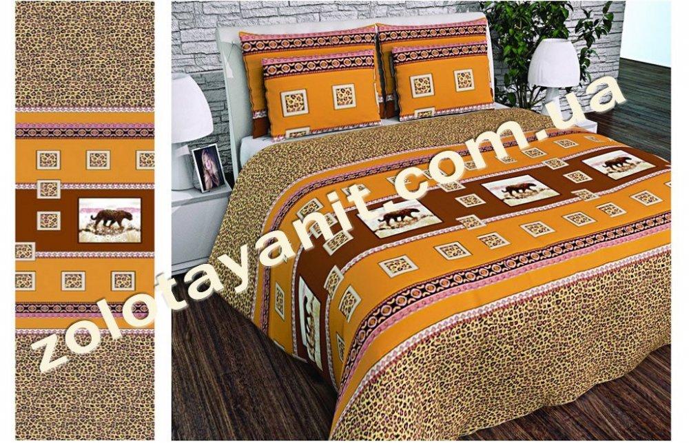 Ткань Бязь Gold для постельного белья 20237-Brown
