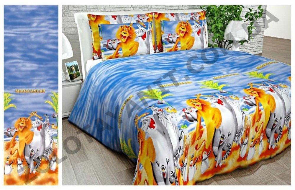 Ткань детская Бязь Gold для постельного белья 10921