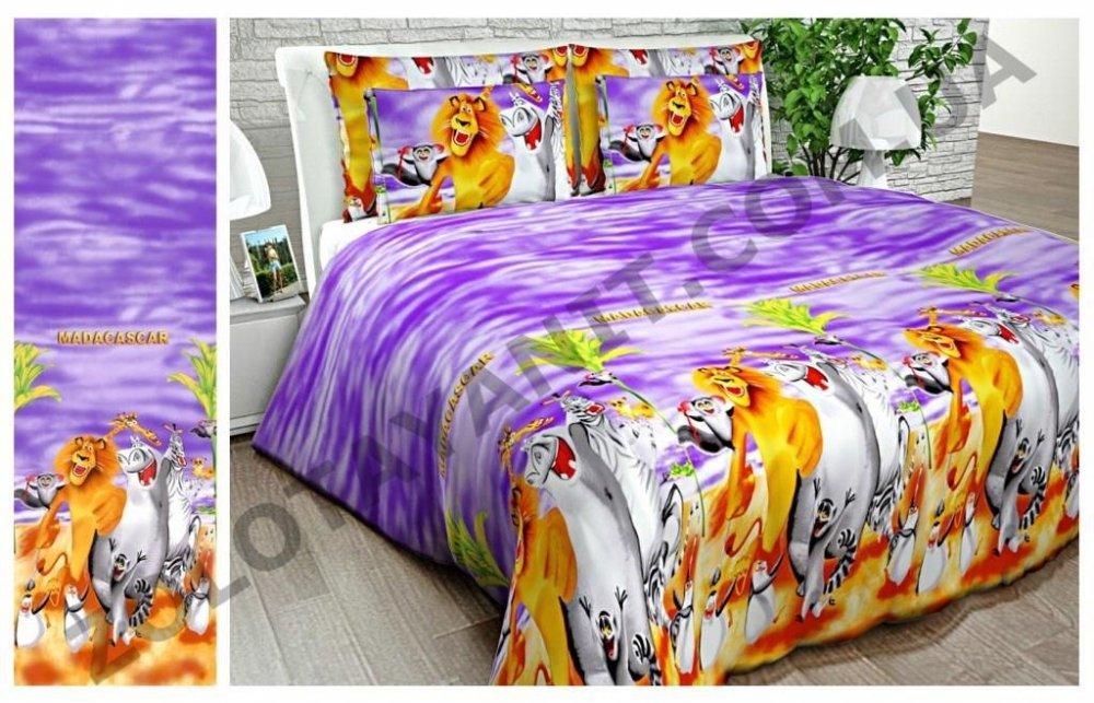 Ткань детская Бязь Gold для постельного белья 10924