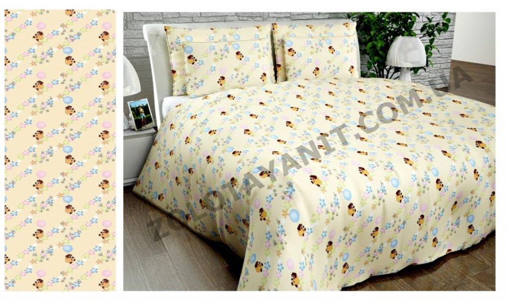 Ткань детская Бязь Gold для постельного белья Uxt-189