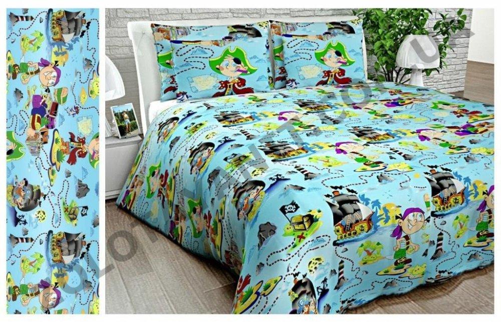 Ткань детская Бязь Gold для постельного белья Uxt467Original
