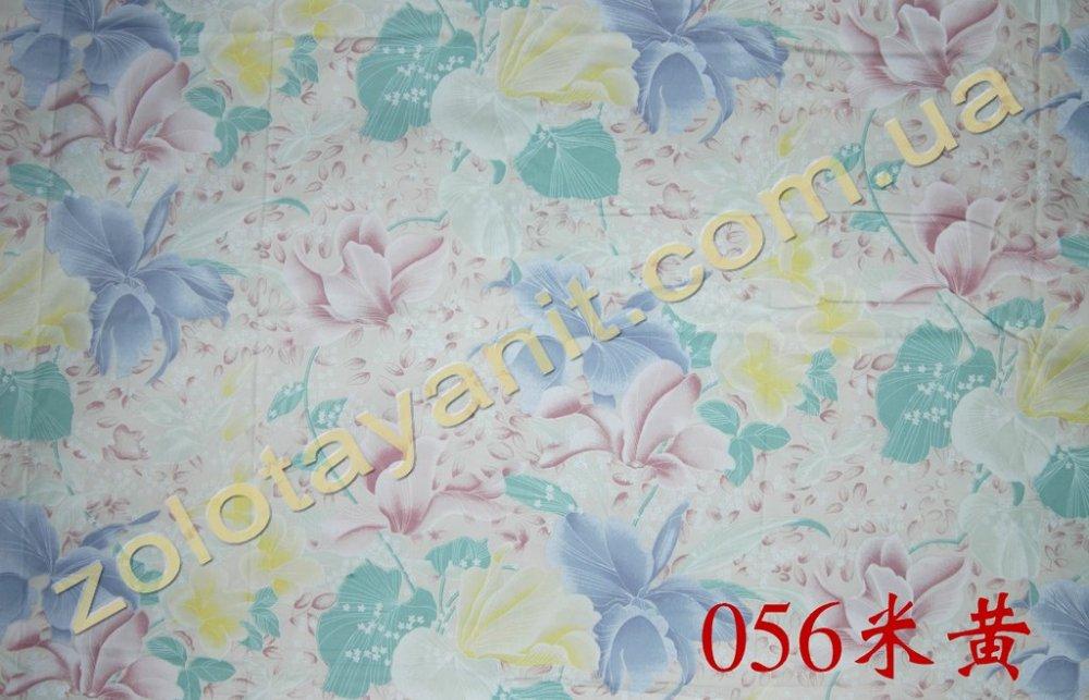 Ткань Тик наперниковый, 100% хлопка 056-Beige