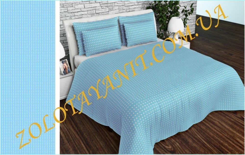Ткань Тик наперниковый, 100% хлопка 2752-1-Blue