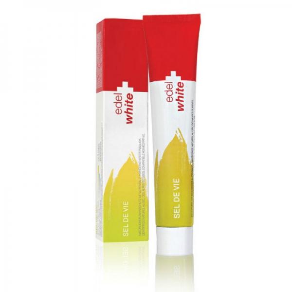 Купити Травяная зубная паста EDEL+WHITE с солью Швейцарских Альп