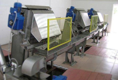 Канализационные механизированные решетки грабельного типа РКЭ