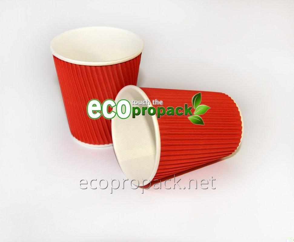 Купить Бумажный Гофро стакан 240мл