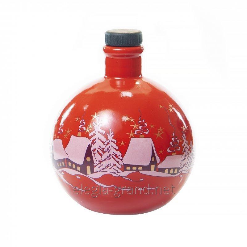 """Botella de cerámica """"Juguete de Navidad"""""""
