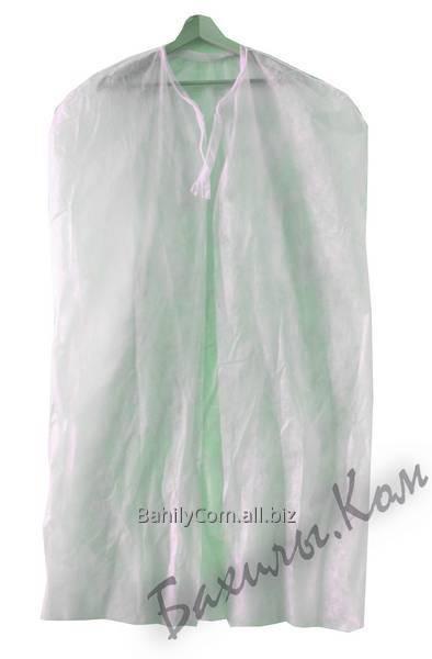Накидка одноразовая медицинская на завязках в индивидуальной упаковке