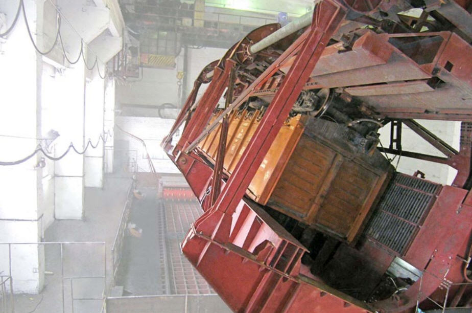 Купить Вагоноопрокидыватель боковой стационарный ВБС-93А, ВБС-93АМ для разгрузки сыпучих грузов из полувагонов грузоподъем ностью 60...93 тн, транспортно-разгрузочНое оборудование, пр-во Днепротяжмаш, Украина