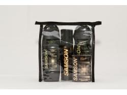 Купить Набор подарочный для мужчин Samson classic-5/Б, косметика для мужчин, шампунь, гель, дезодорант, бальзам, мыло
