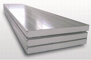 Buy PPS sandwich panel. PPU. Mines cotton wool. thickness 60; 100; 150 mm.