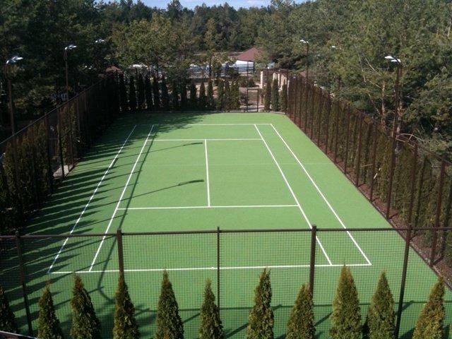 Купить Покрытие для теннисных кортов ГУМИБОСПОРТ