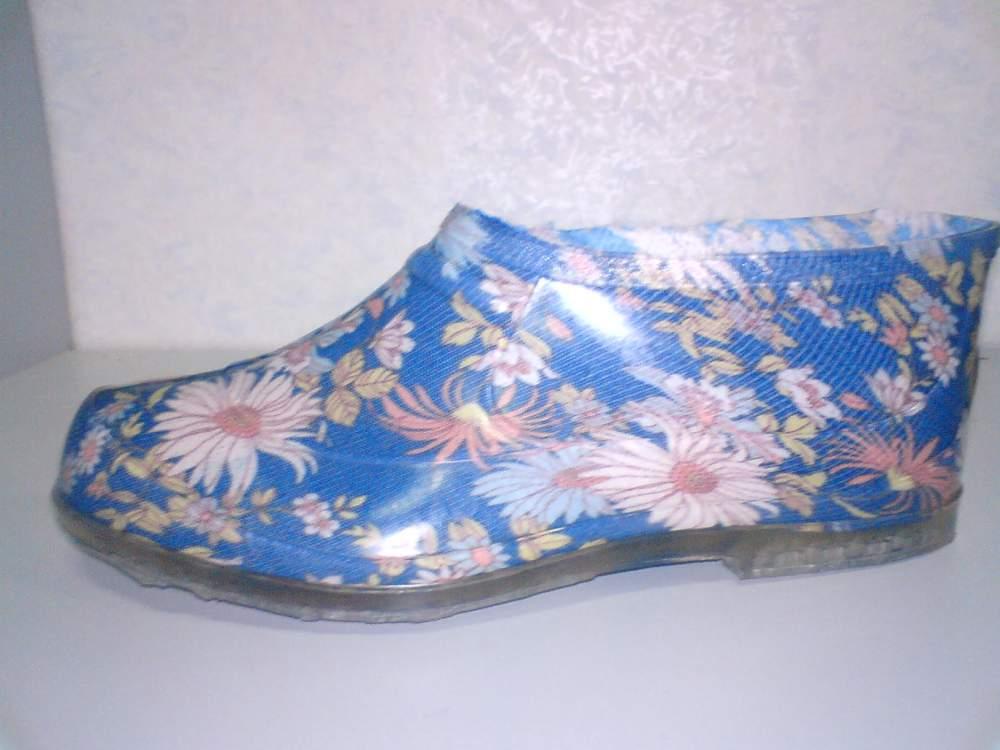 Взуття спеціальне. Калоші садові кольорові. купити в Конотоп df02b3602f118
