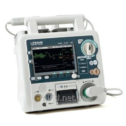 Дефибриллятор-монитор CU-HD1 укомп.: модуль SPO2, кардиостимулятор, автоадаптер