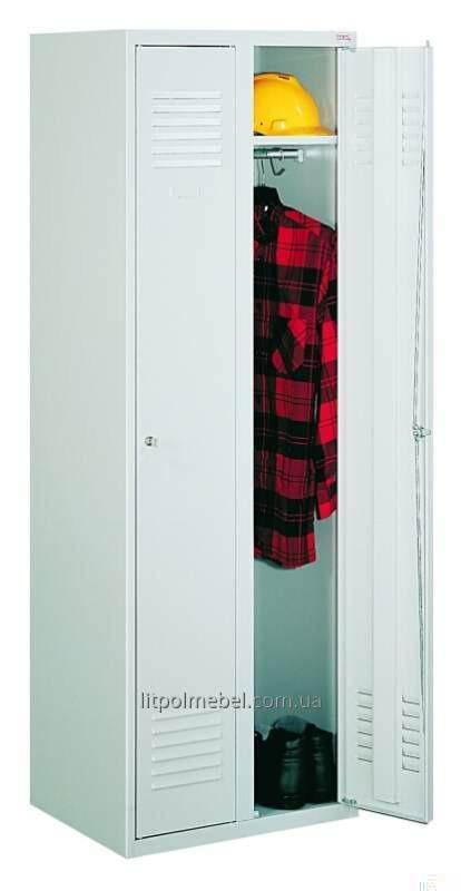 Шкаф одежный металлический Sum 320 P