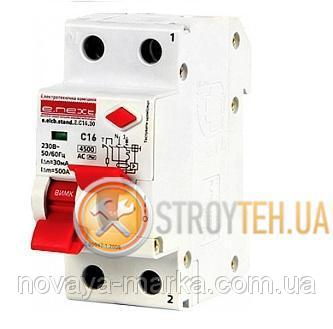 Buy Switch Differential current, Difavtomat e.next e. Elcb. Stand. 2. (C) 16.30, 2 p 16A, C, 30ma with a split Grip