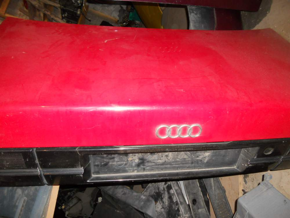 Buy The auto parts which were in the use. Back cover of Audi 100