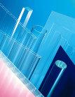 Купить Оргстекло листовое и блочное 0,2-200мм (акрил) прозр., цветное, молочное, матовое, дымчатое, чёрное; трубы из оргстекла 12-650мм; стержни акриловые 2-20мм