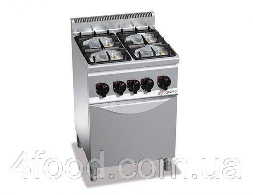 Плита газовая GGM GHB669P+GB4 4 конфорки 19 кВт + духовой шкаф газовый 3,5 кВт