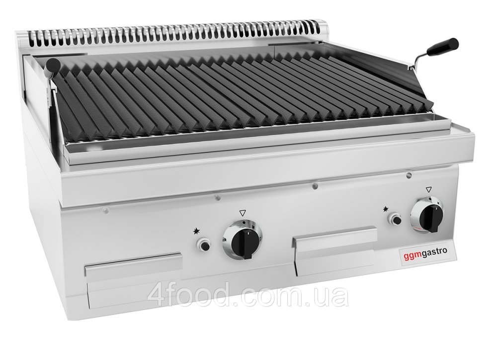 Gas Grill GGM GLGK800-E with volcanic lava 14 kW