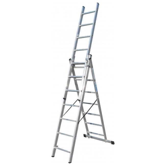 Купить Лестница 3-секционная ELKOP VHR 3*7