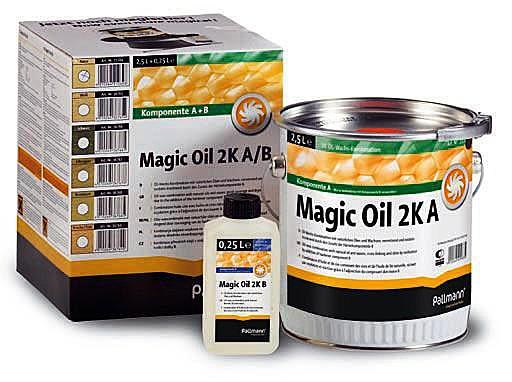 Купить Масло двухкомпонентное Pallmann Magic oil 2-k, масло для паркета