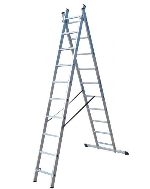 Купить Лестница 2-х секционная ELKOP VHR H2x14