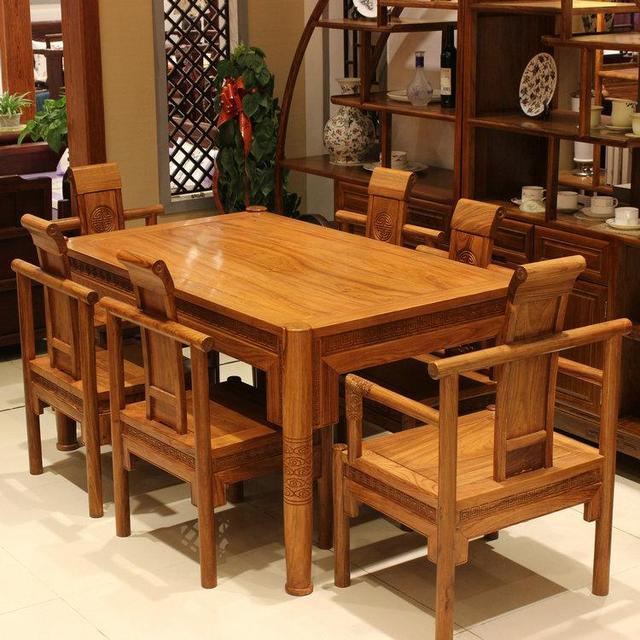 Buy Kitchen table made of natural wood