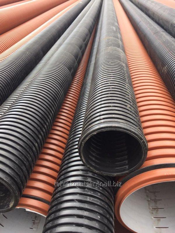 Купить Труба гофрированная канализационная Pragma 160 мм