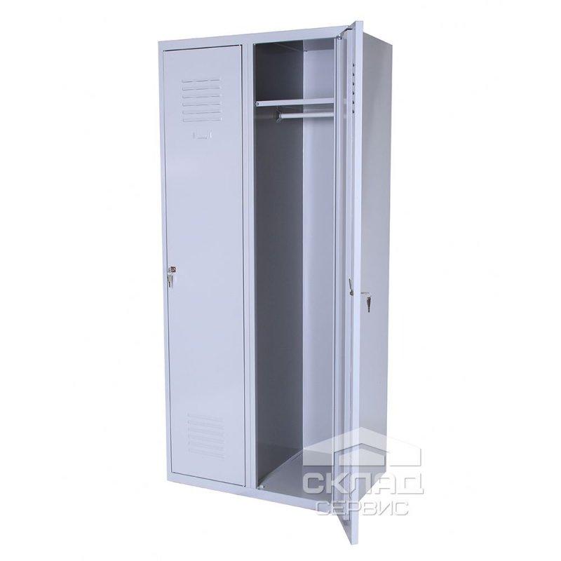 Купить Гардеробный двухячеечный металлический шкаф (Sum 320)